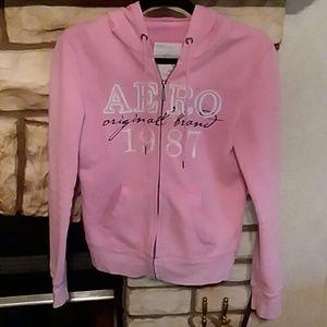 Pink aeropostal jacket size M